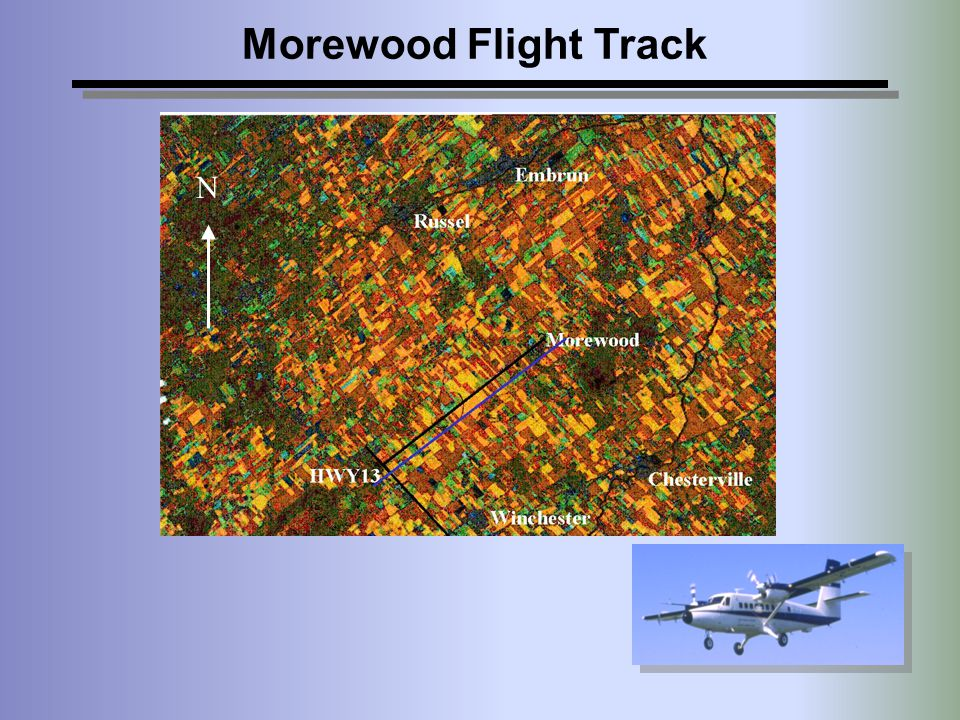 Morewood Flight Track N