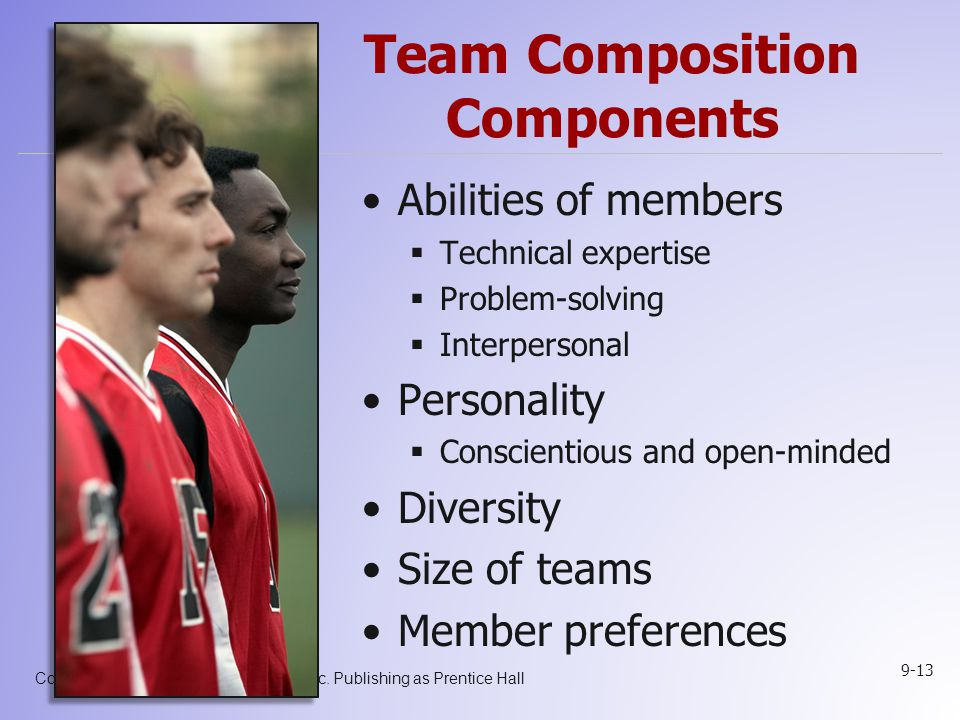 Team Composition Components