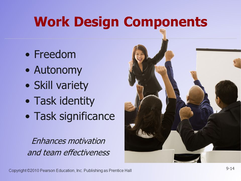 Work Design Components