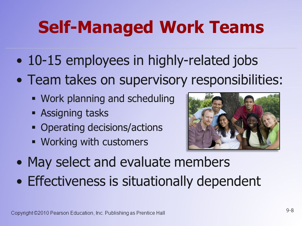 Self-Managed Work Teams