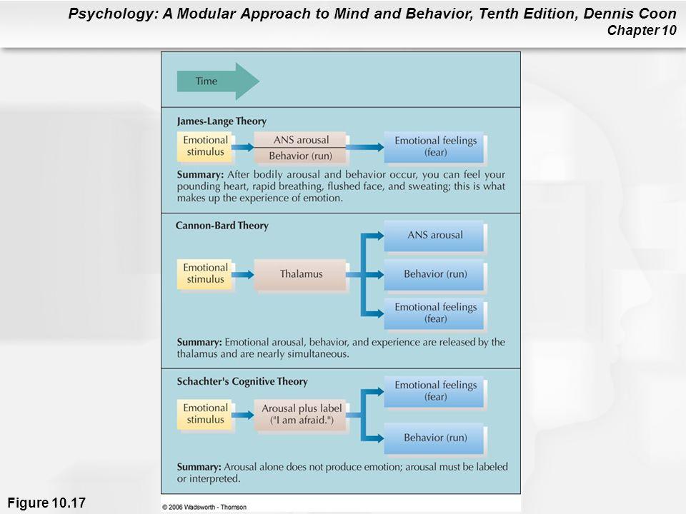 Figure 10.17 Theories of emotion.
