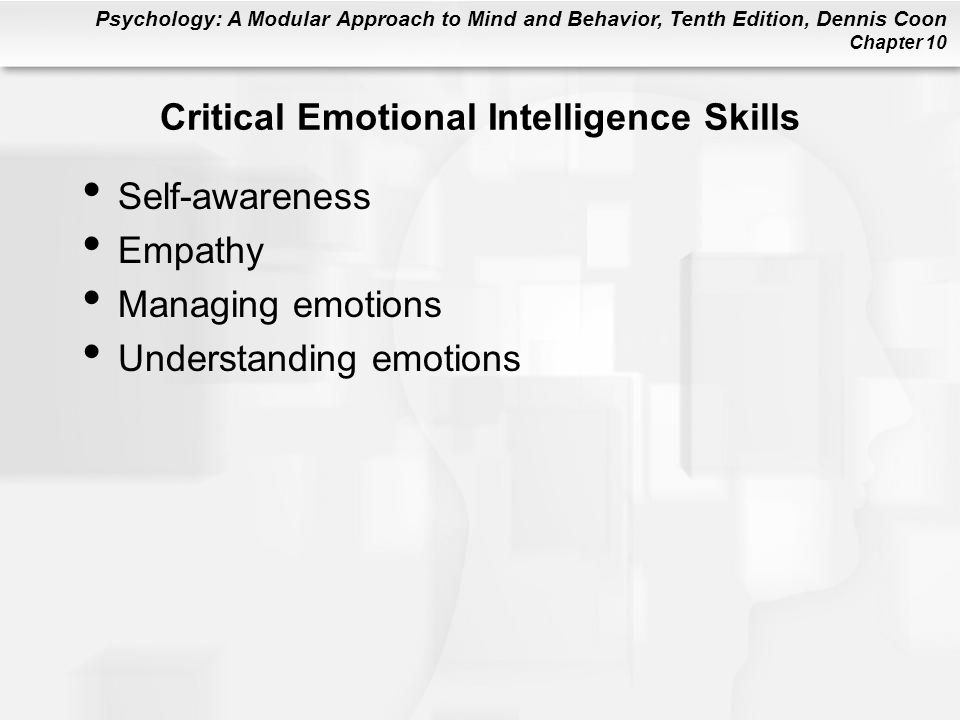 Critical Emotional Intelligence Skills