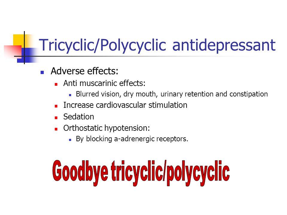 Tricyclic/Polycyclic antidepressant