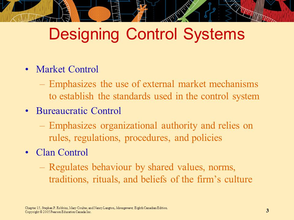 Designing Control Systems
