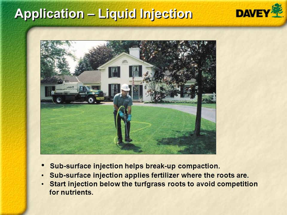 Application – Liquid Injection