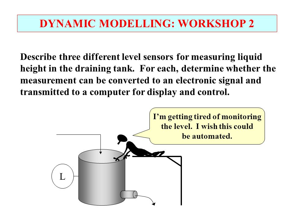 DYNAMIC MODELLING: WORKSHOP 2