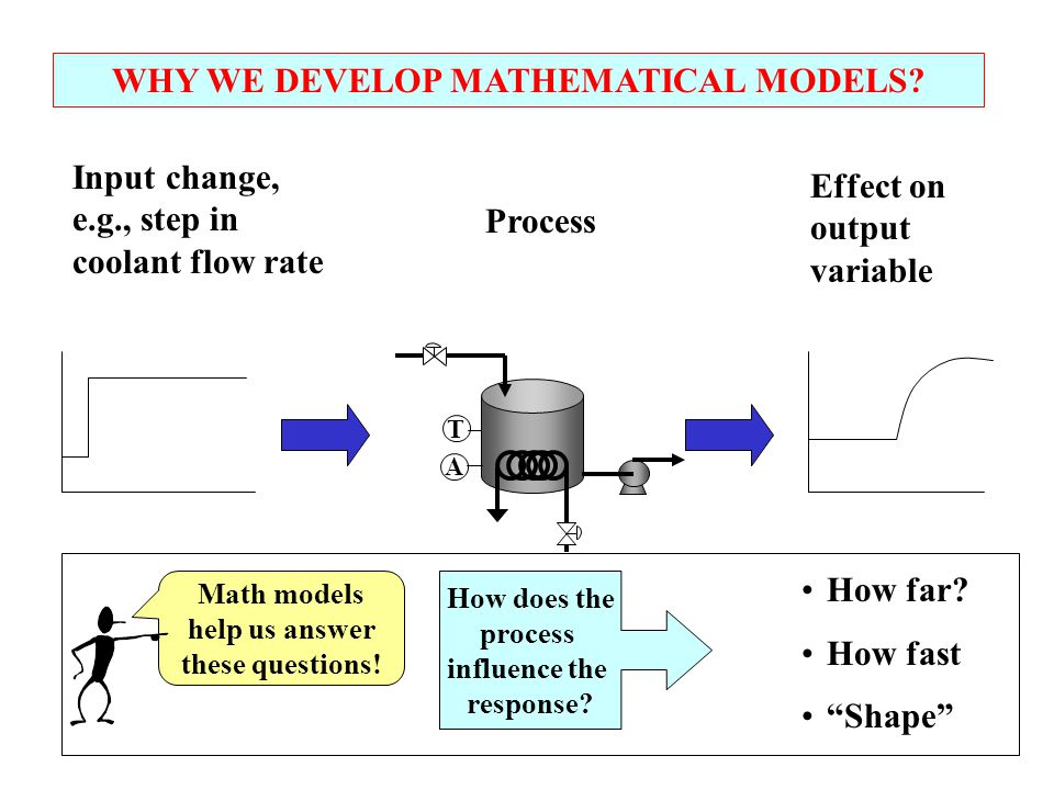 WHY WE DEVELOP MATHEMATICAL MODELS