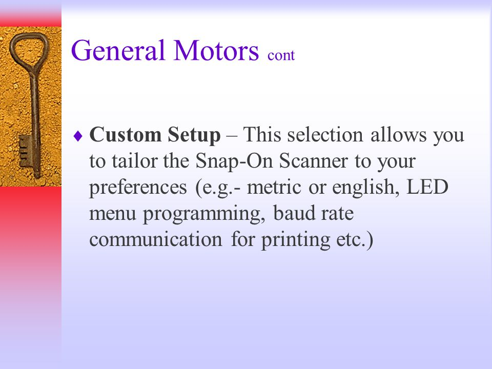 General Motors cont