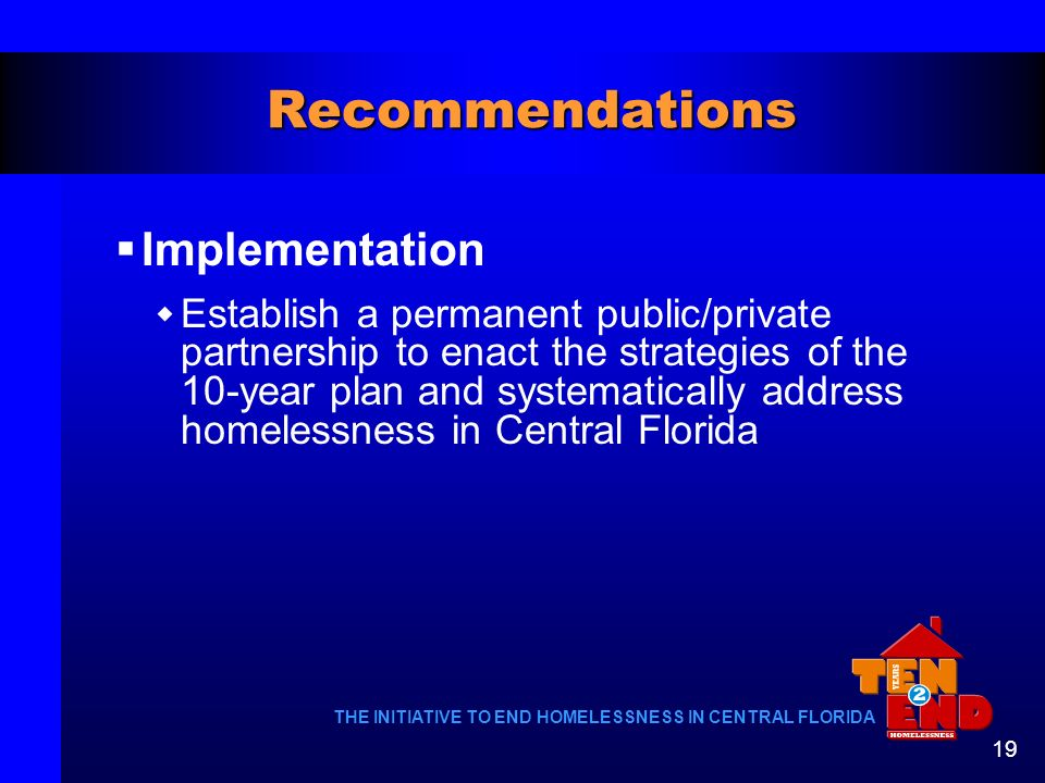 Recommendations Implementation