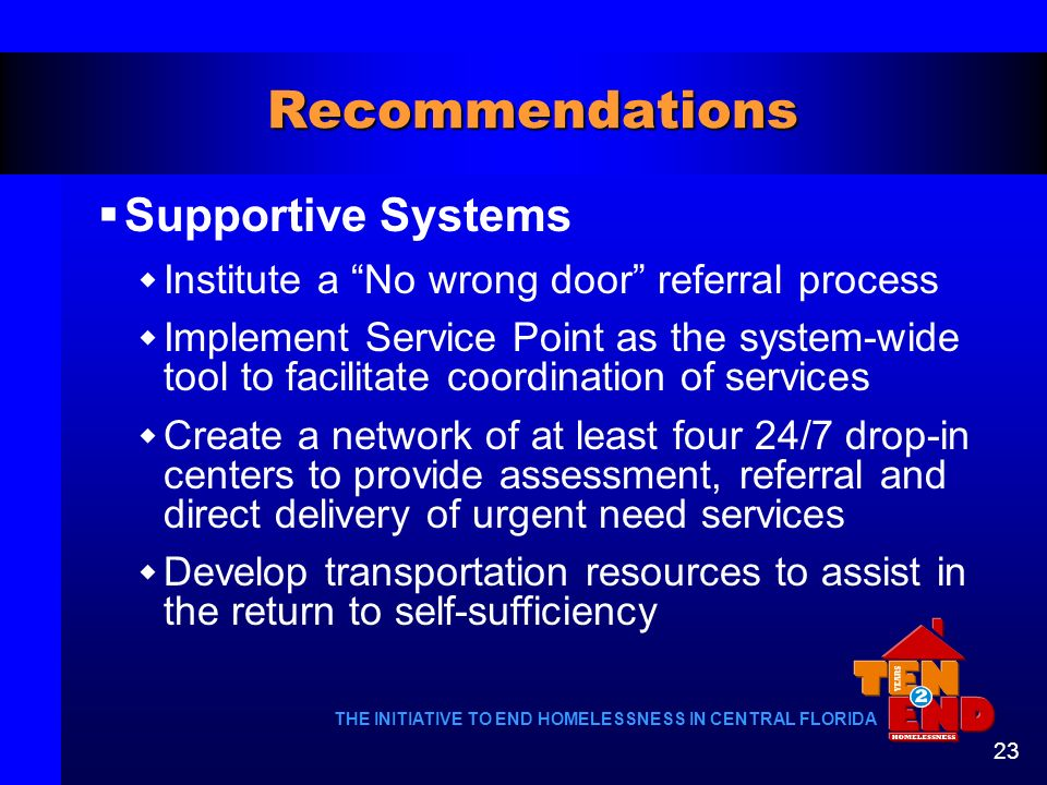 Recommendations Supportive Systems