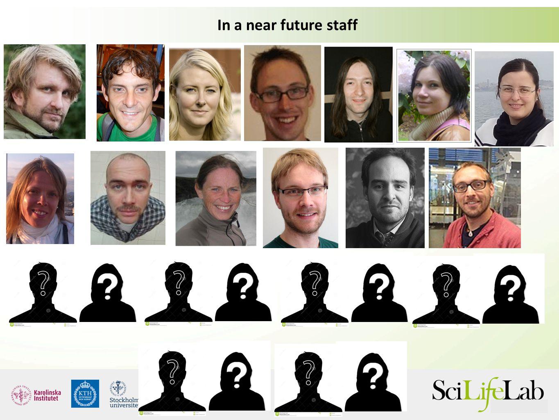 In a near future staff