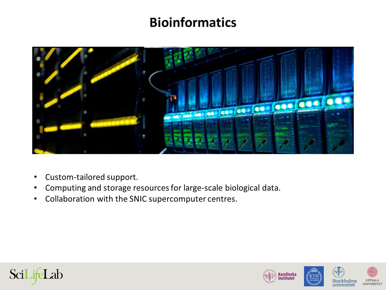 Bioinformatics Custom-tailored support.