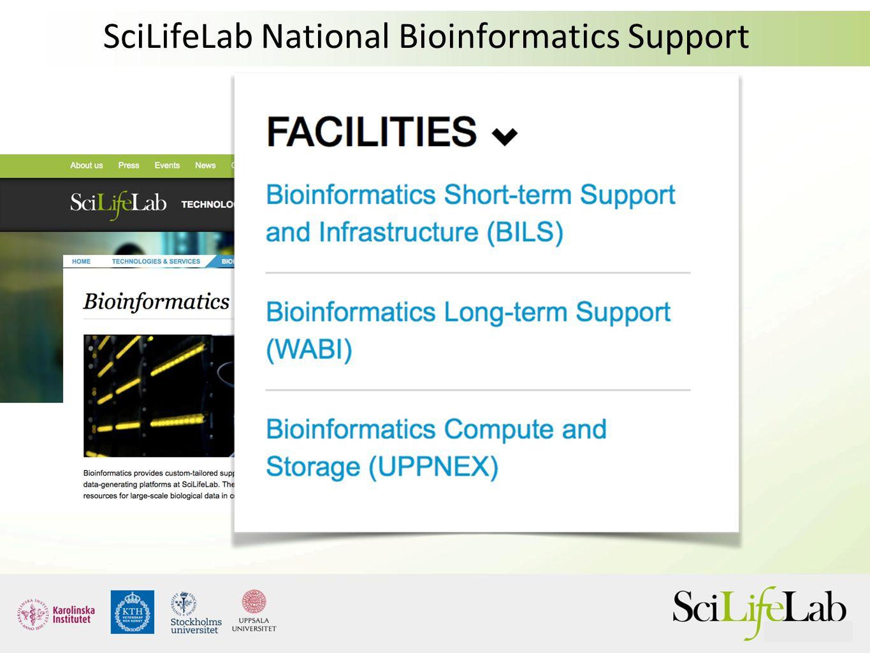 SciLifeLab National Bioinformatics Support