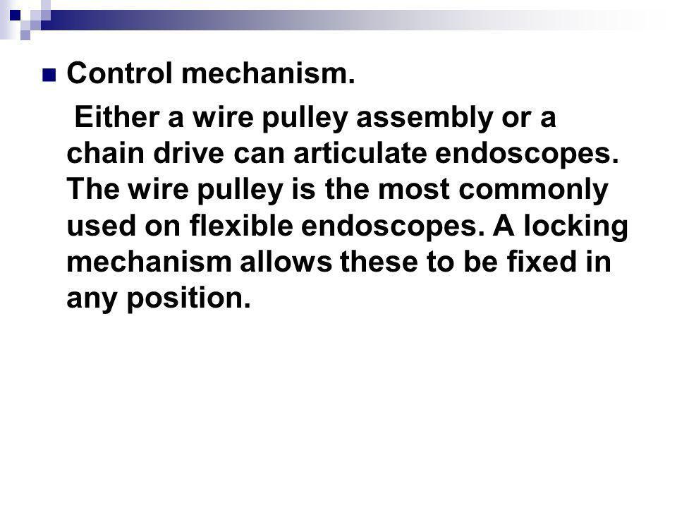 Control mechanism.