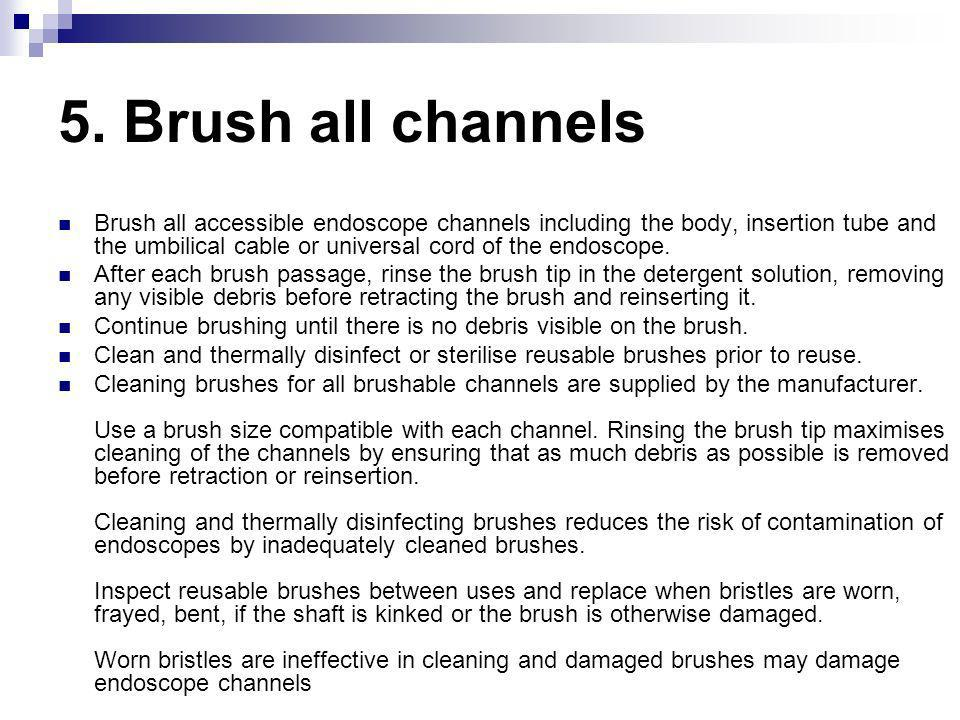 5. Brush all channels