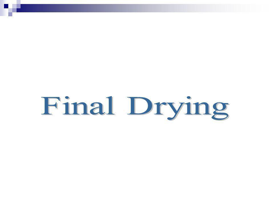 Final Drying
