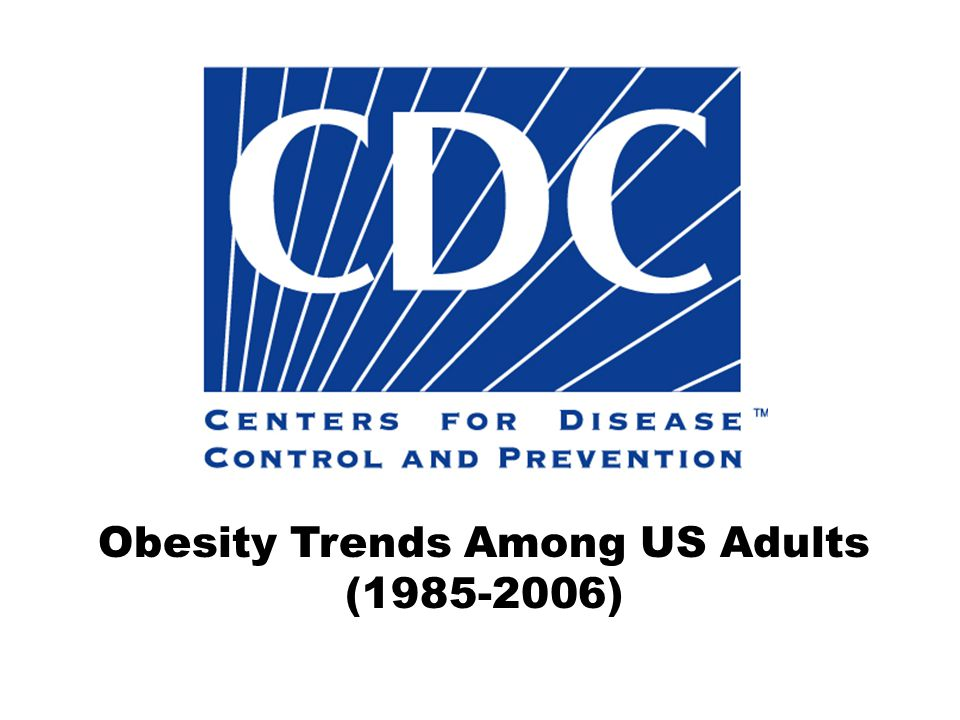 Obesity Trends Among US Adults (1985-2006)