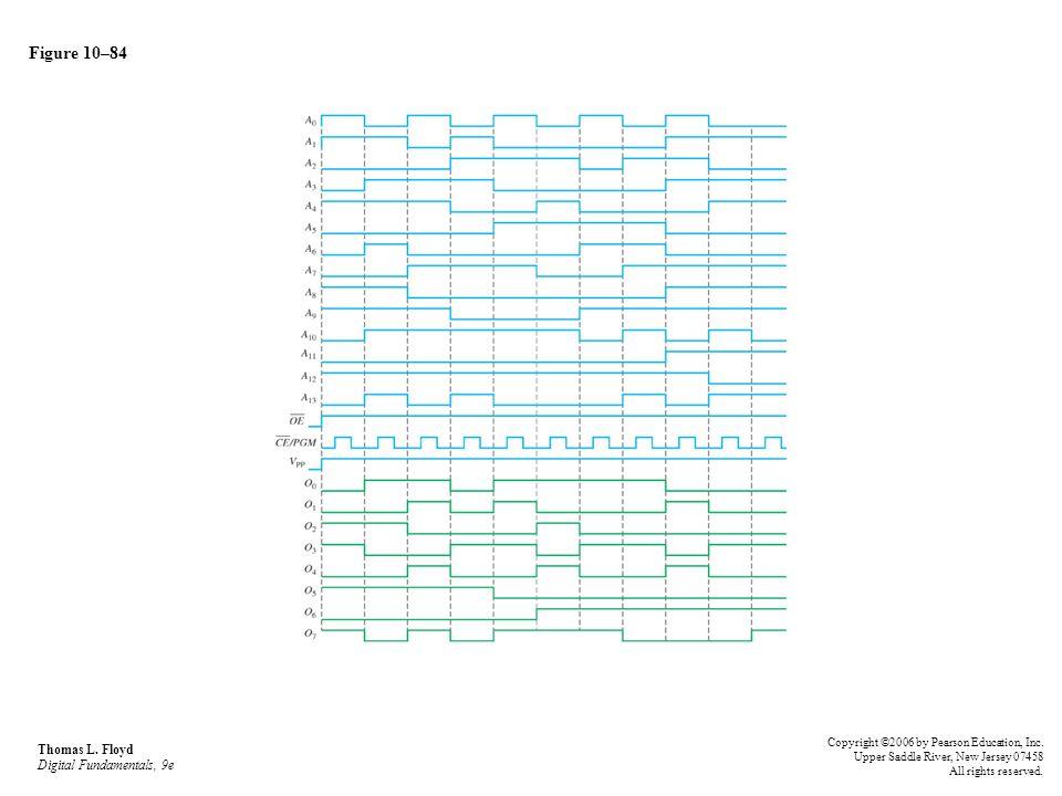 Figure 10–84 Thomas L. Floyd Digital Fundamentals, 9e