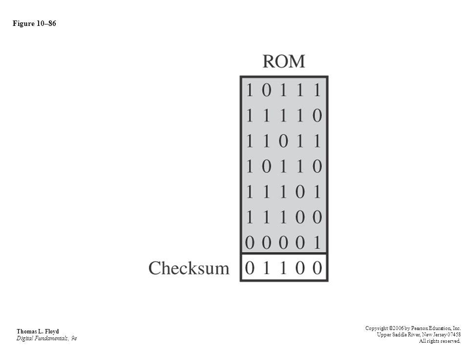 Figure 10–86 Thomas L. Floyd Digital Fundamentals, 9e
