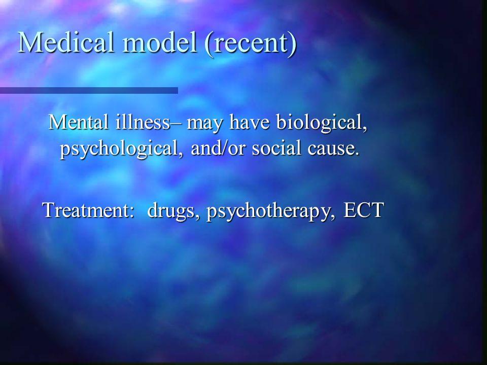 Medical model (recent)