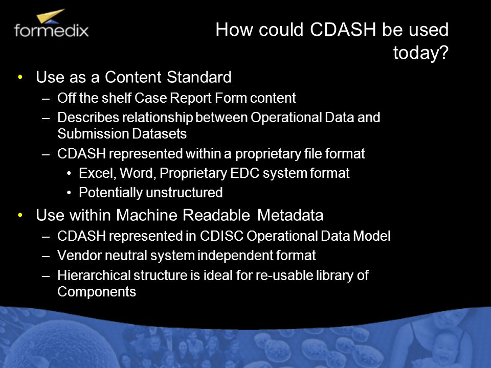 How could CDASH be used today