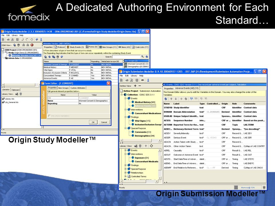 A Dedicated Authoring Environment for Each Standard…