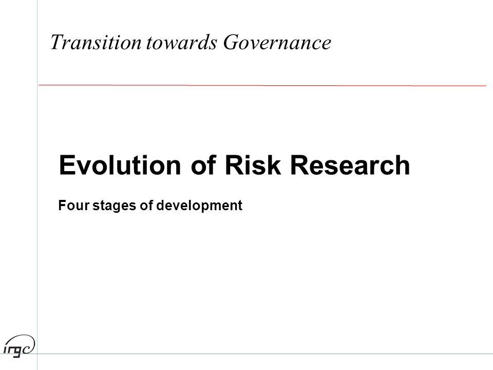 Transition towards Governance