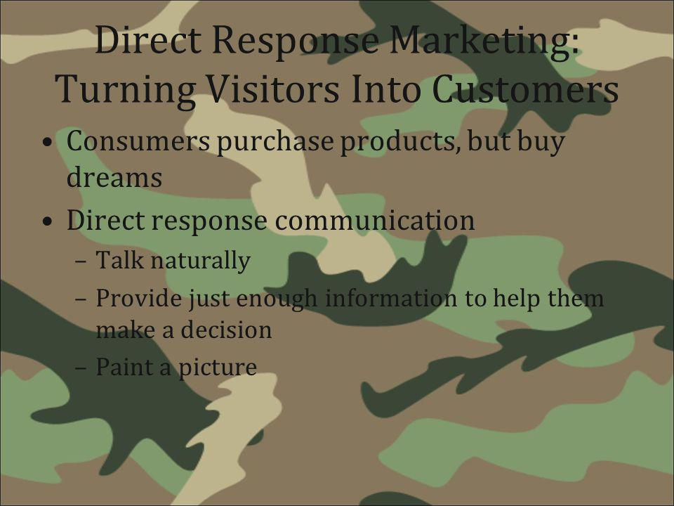 Direct Response Marketing: Turning Visitors Into Customers