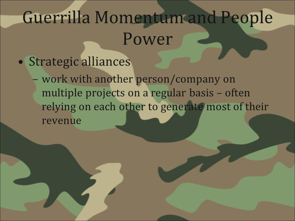 Guerrilla Momentum and People Power