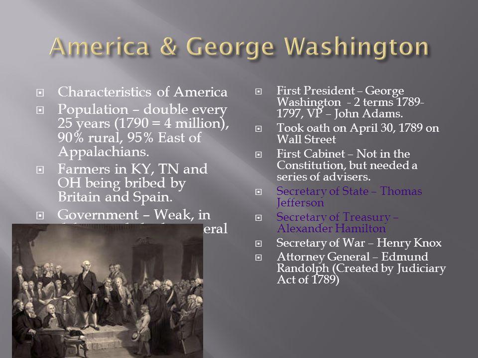America & George Washington