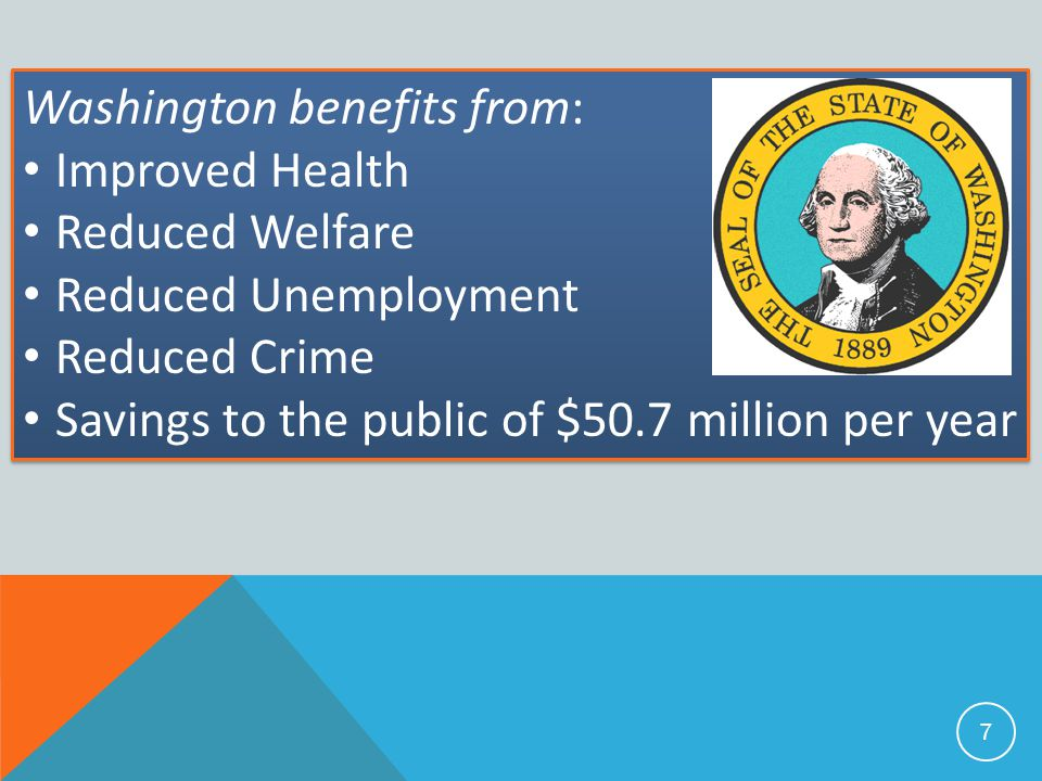 Washington benefits from: