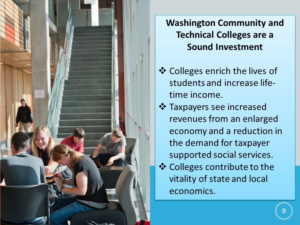 Washington Community and Technical Colleges are a