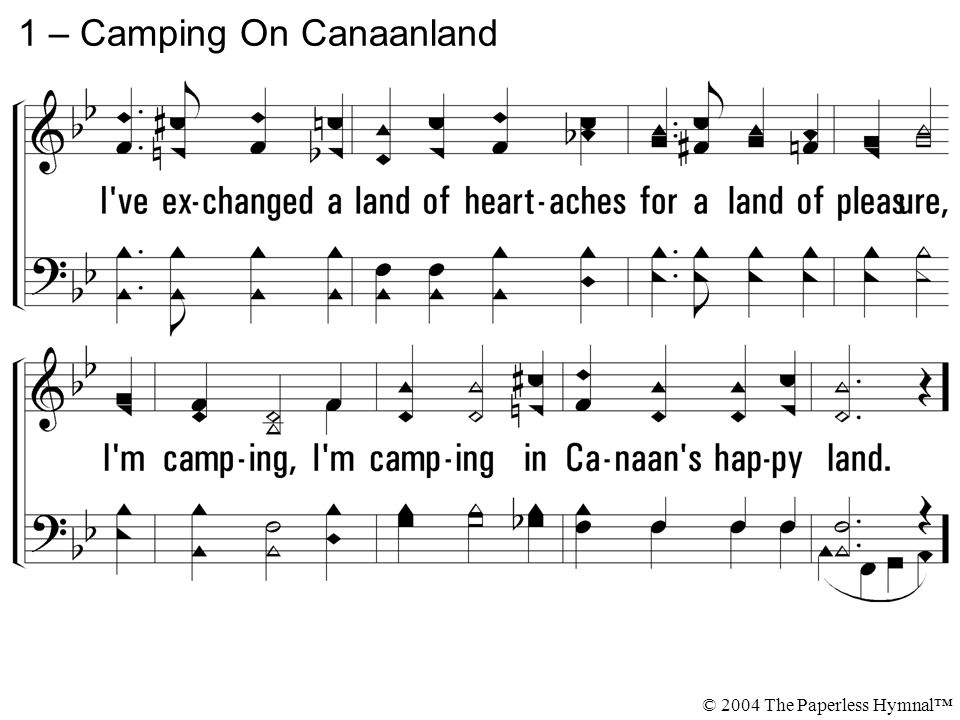 1 – Camping On Canaanland