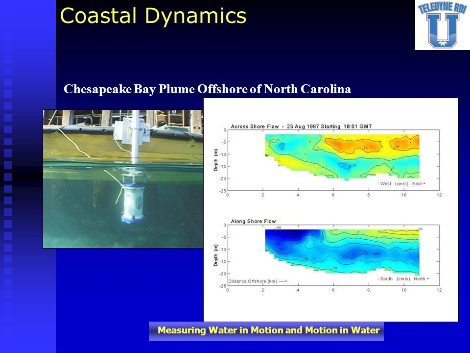 Coastal Dynamics Chesapeake Bay Plume Offshore of North Carolina