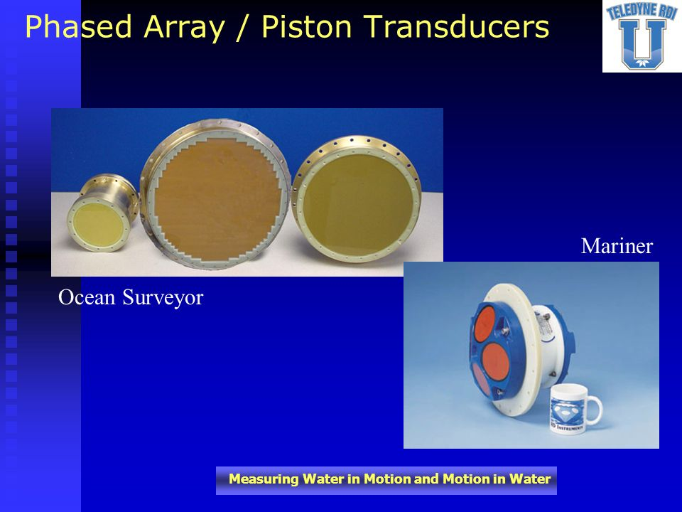 Phased Array / Piston Transducers