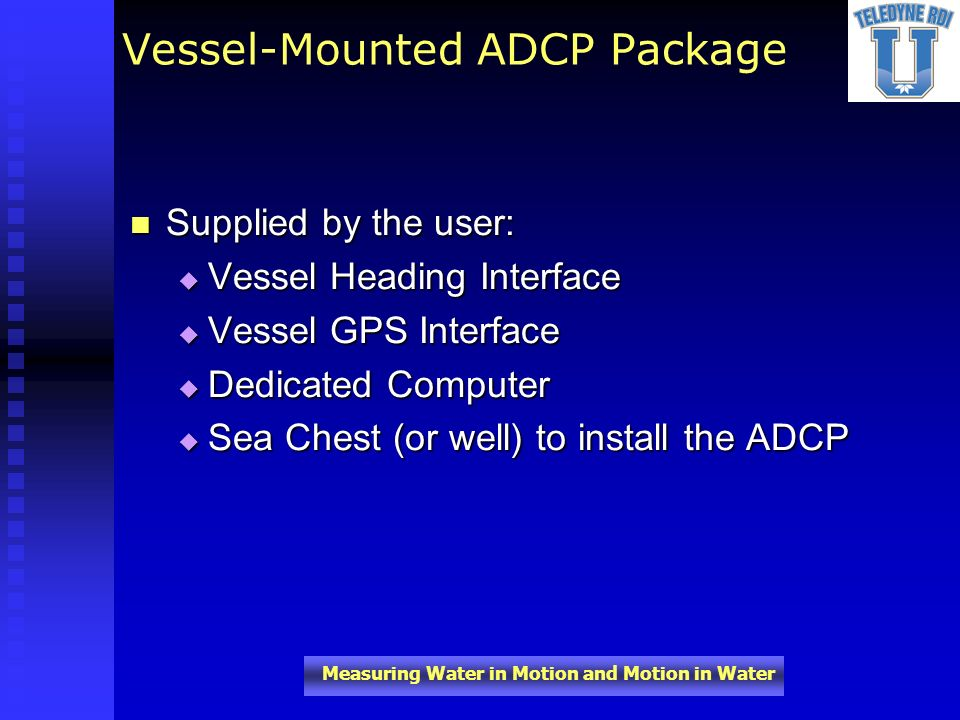 Vessel-Mounted ADCP Package