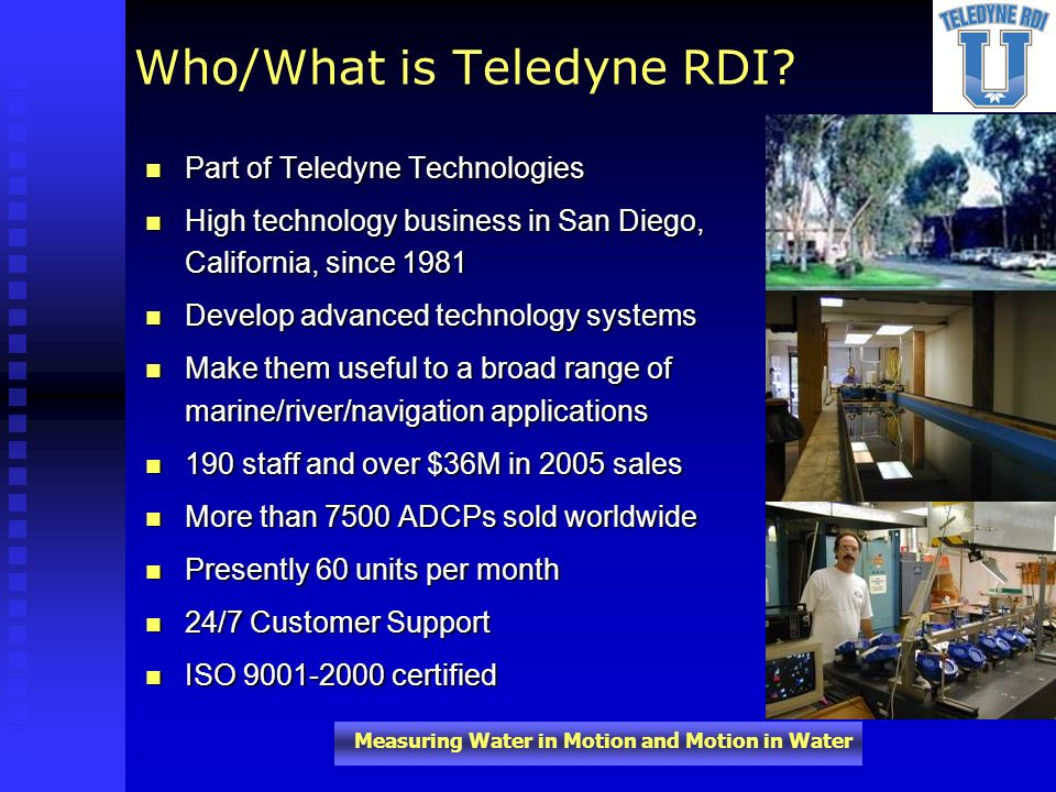 Who/What is Teledyne RDI