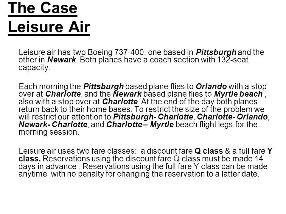The Case Leisure Air