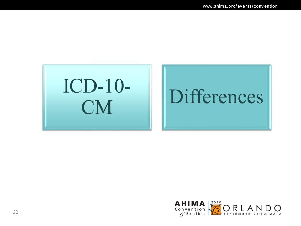 ICD-10-CM Differences
