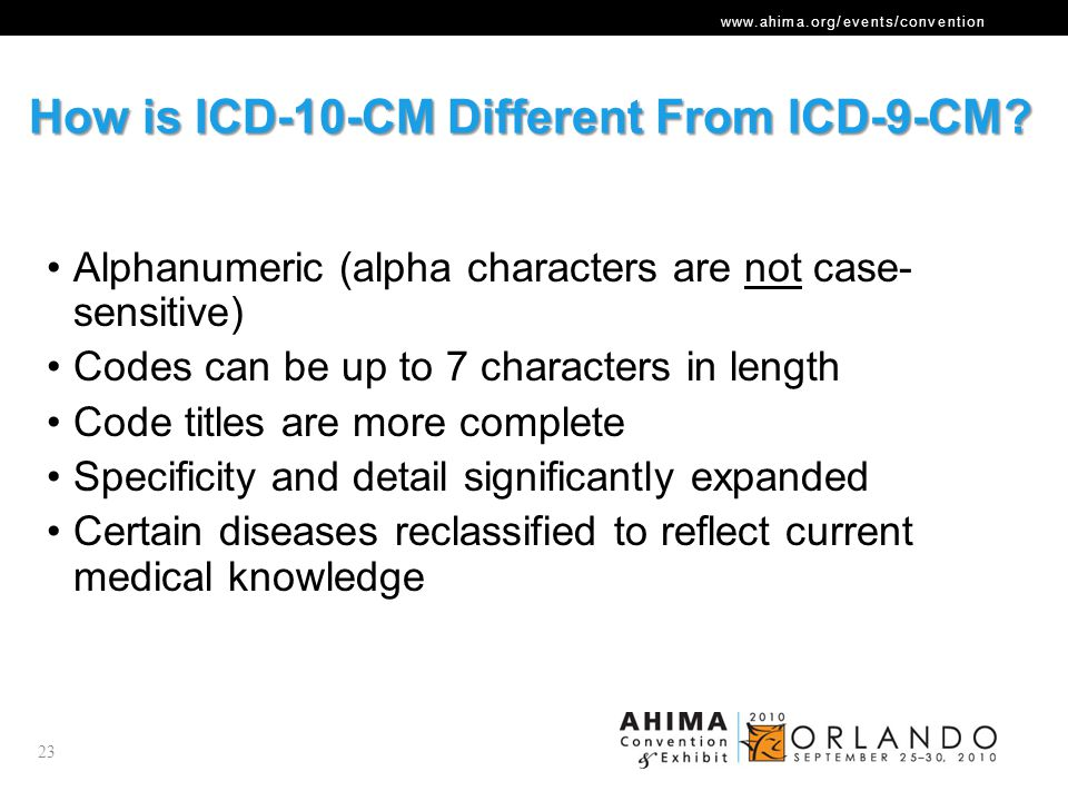 How is ICD-10-CM Different From ICD-9-CM