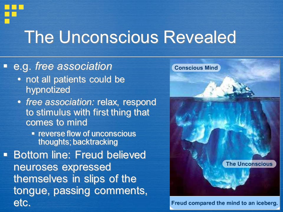 The Unconscious Revealed