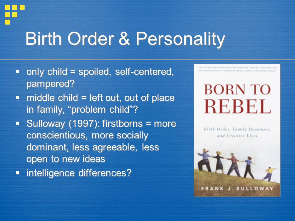 Birth Order & Personality