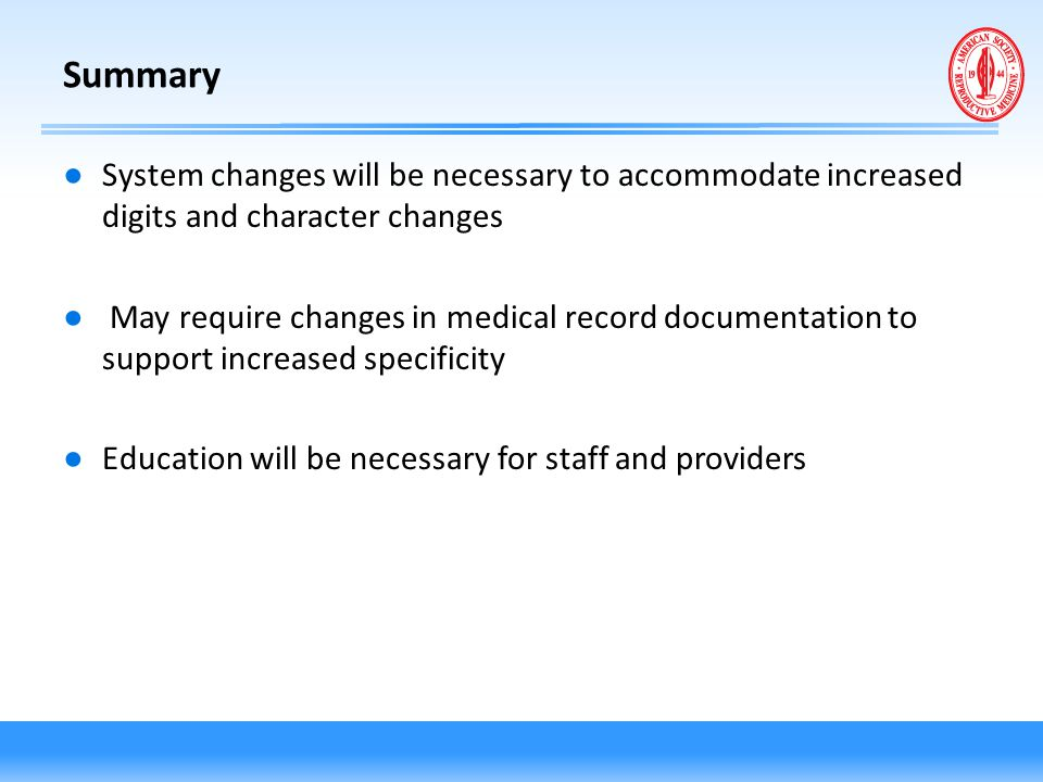 Summary System changes will be necessary to accommodate increased digits and character changes.