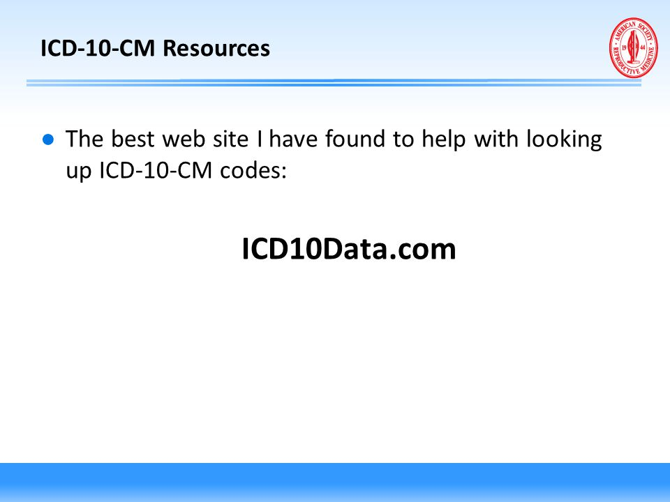 ICD10Data.com ICD-10-CM Resources