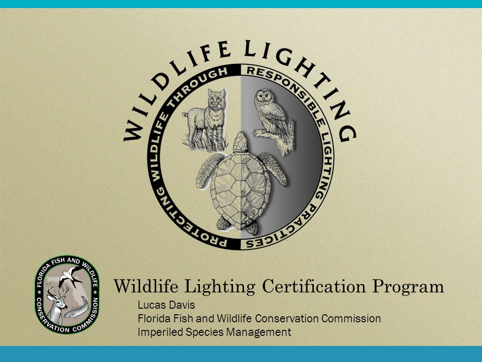 Wildlife Lighting Certification Program