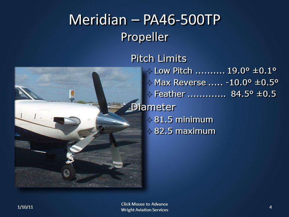 Meridian – PA46-500TP Propeller