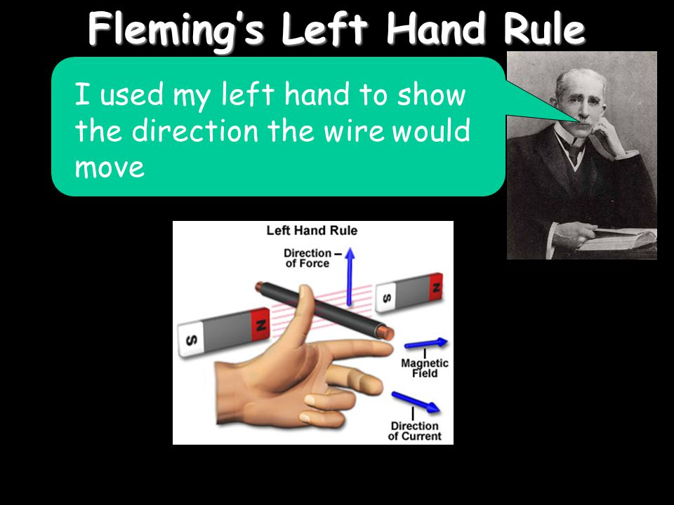 Fleming's Left Hand Rule