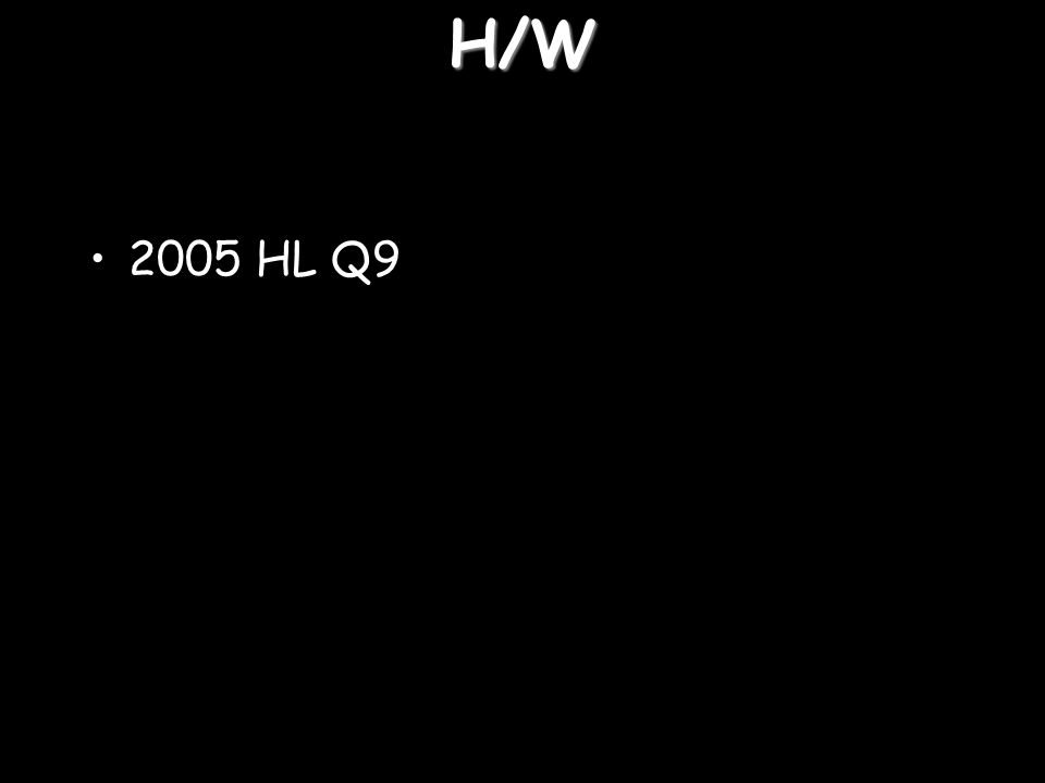 H/W 2005 HL Q9