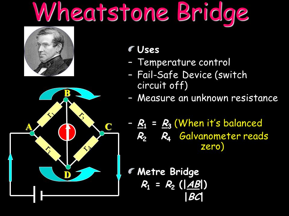 Wheatstone Bridge Uses Temperature control