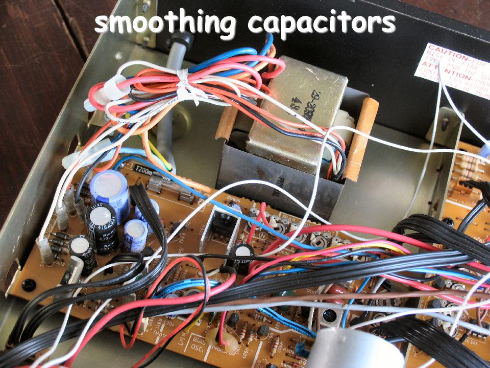smoothing capacitors